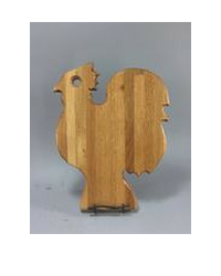 rooster shaped cutting board
