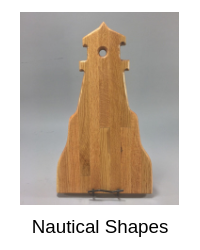 Click here to explore our nautical shaped cutting boards